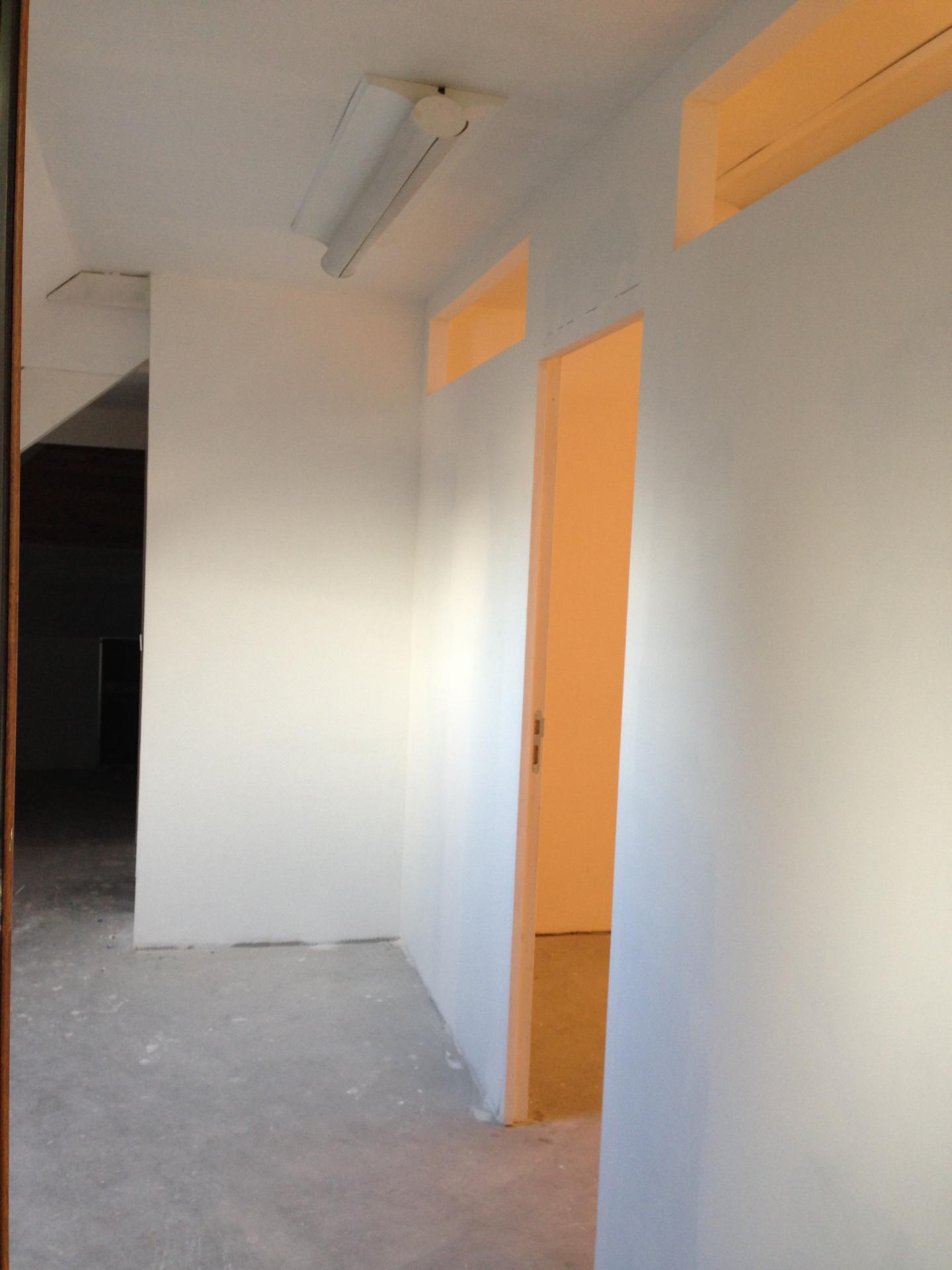 La future Salle du Personnel et Espace Accueil Visiteurs